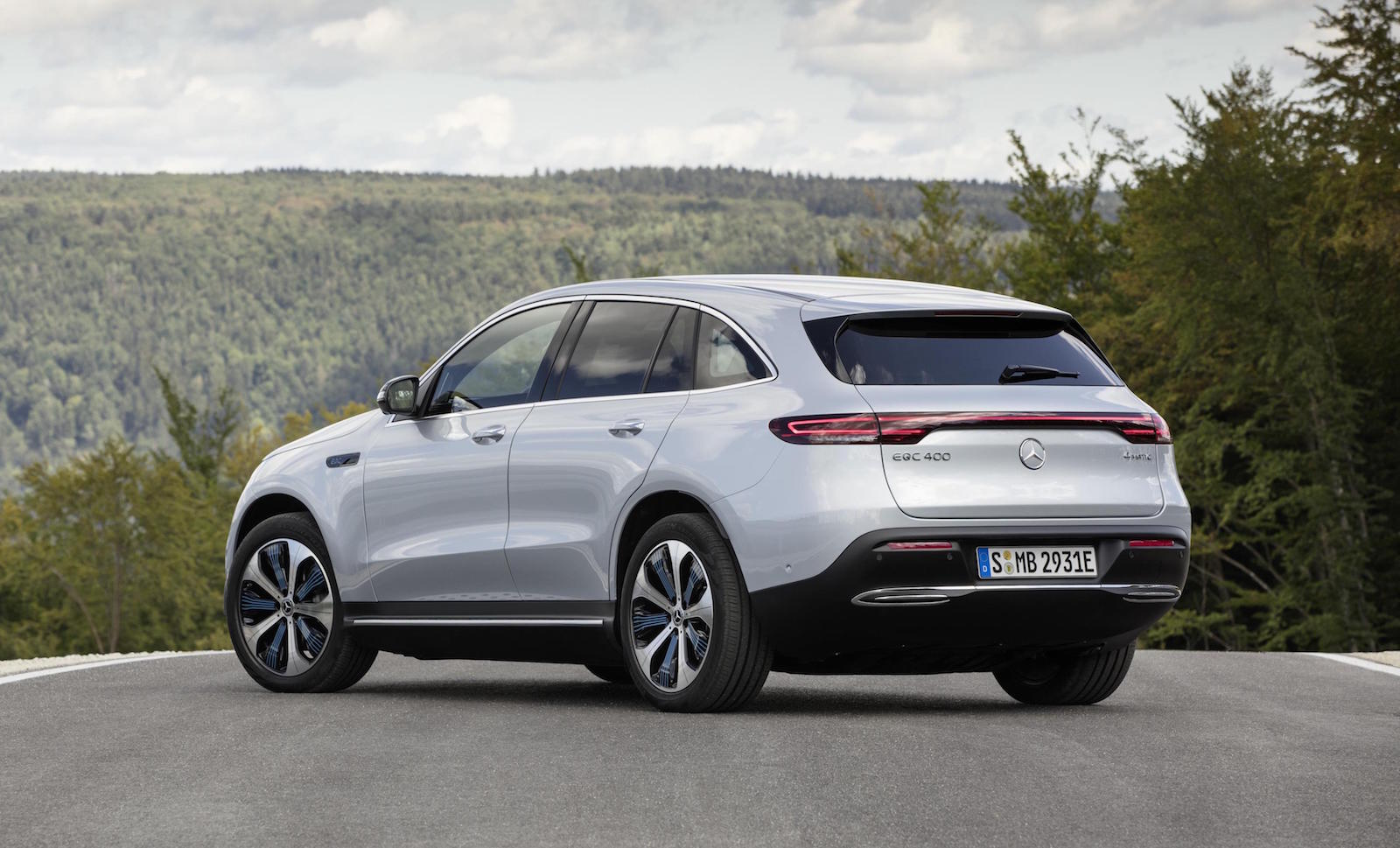 Mercedes-Benz EQC All-Electric Vehicle Has a Range of More ...