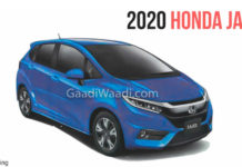Next Generation Honda Jazz Spied-2