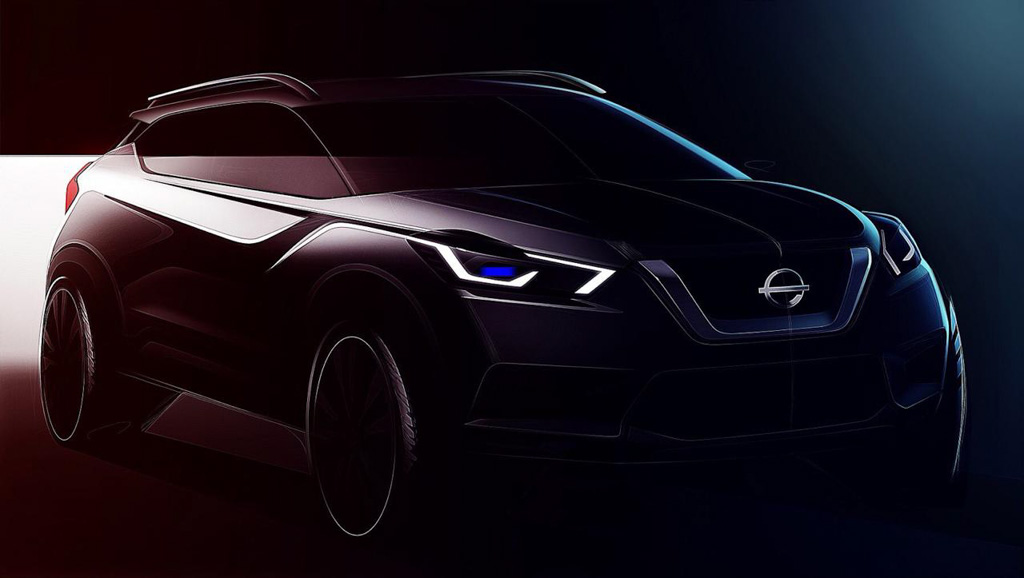 Nissan Kicks Teased India 1