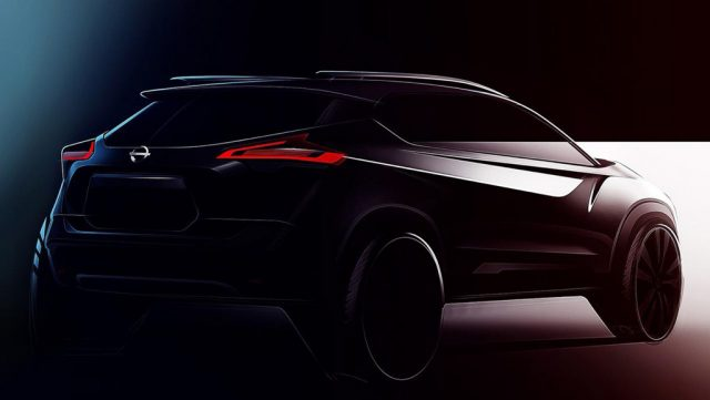 Nissan Kicks Teased India