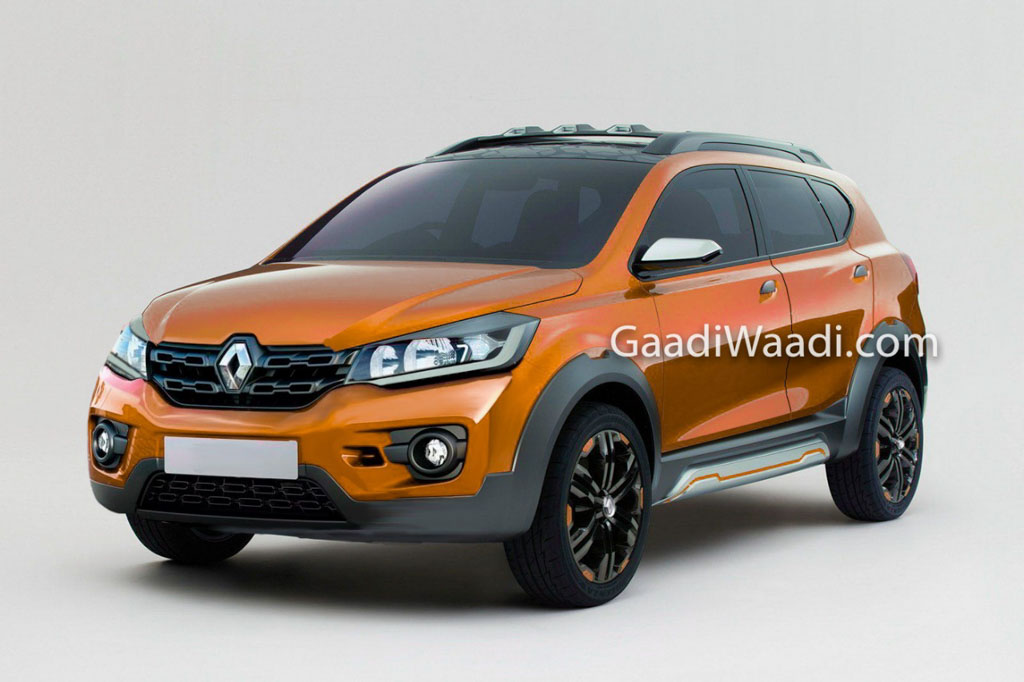 Upcoming 7-seater Renault Kwid MPV Rendered, Launch Soon