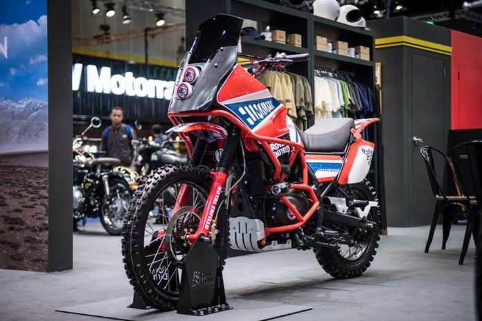 Royal Enfield Himalayan Dakar Edition 2