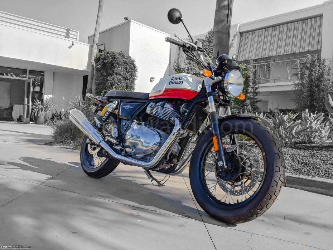 Royal Enfield Interceptor 650 pics-1