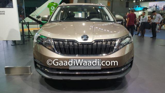 Skoda Kamiq India - 2018 Chengdu Motor Show China