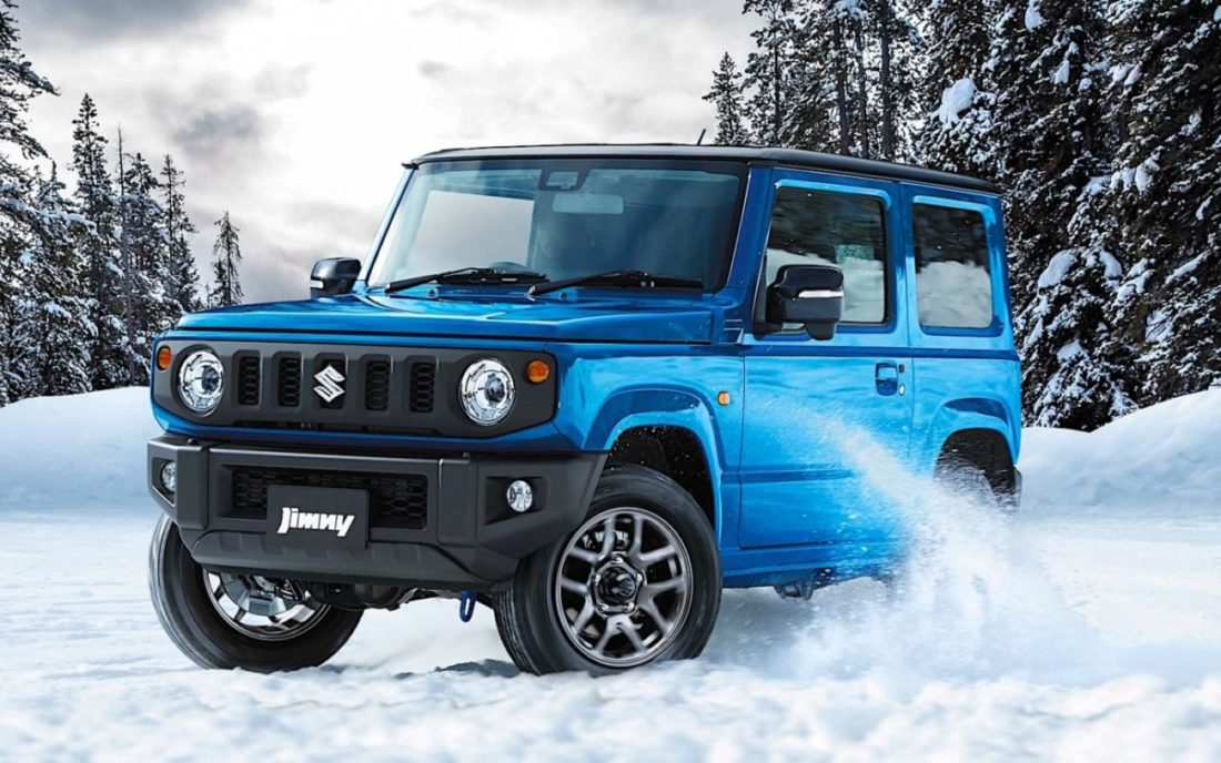 2018 suzuki jimny small off roader praised by reviewers in europe. Black Bedroom Furniture Sets. Home Design Ideas