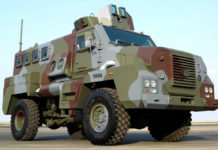 Tata Mine Protected Vehicle (MPV) 4x4
