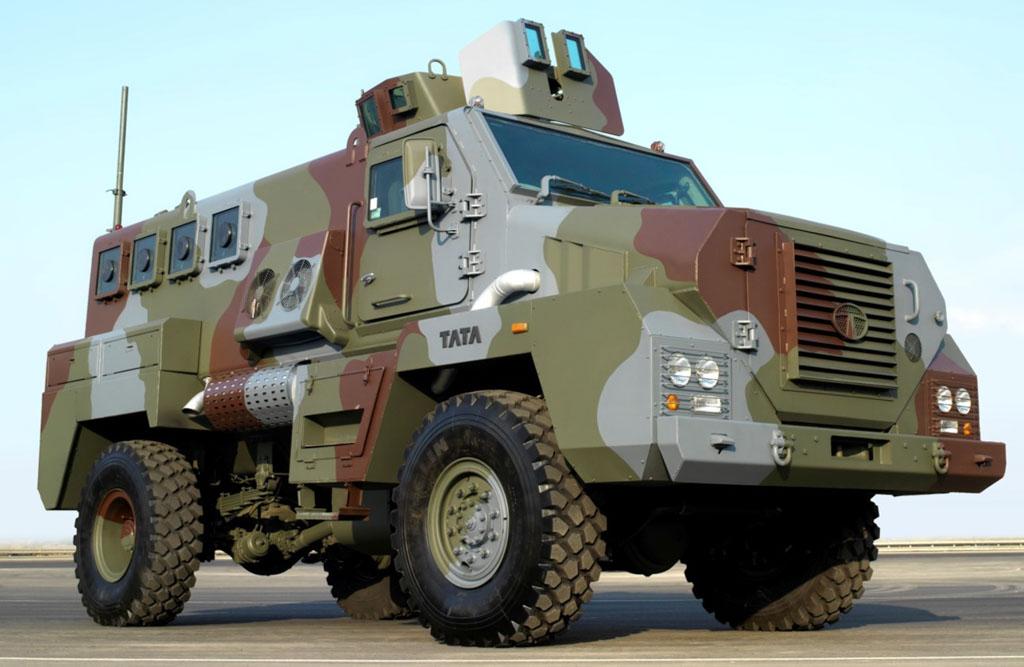 Tata Mine Protected Vehicle (MPV) 4x4