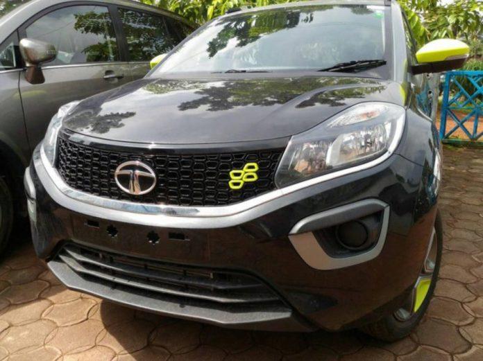 Tata-Nexon-Kraz-Limited-Edition-spotted-in-Dealership-1