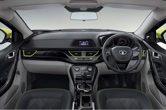 Tata Nexon Kraz Special Edition Interior