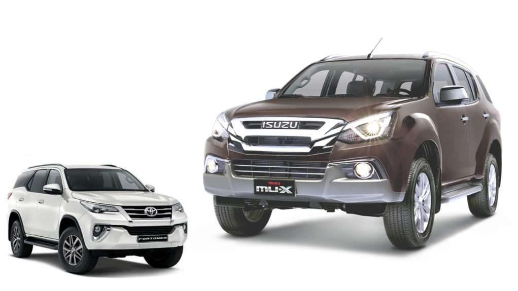 Toyota Fortuner-rivalling Isuzu MU-X Facelilt