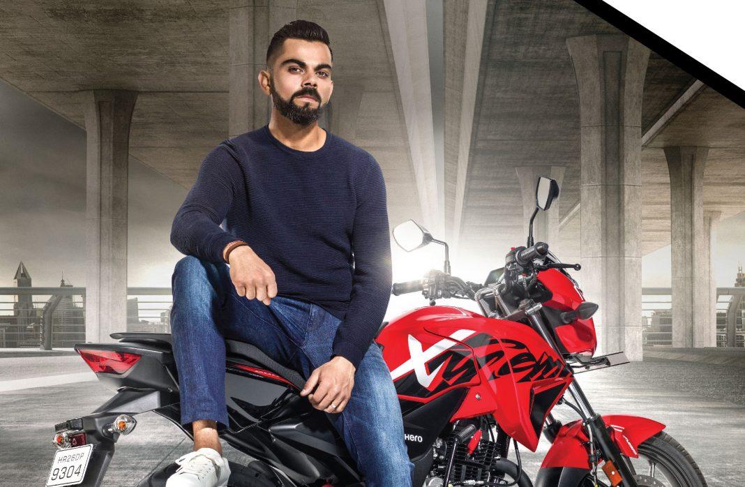 Virat Kohli, Brand Ambassador of Hero MotoCorp