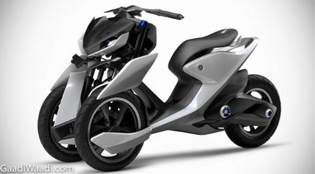 Yamaha E02 - 🛵 Electric Scooters India 2021