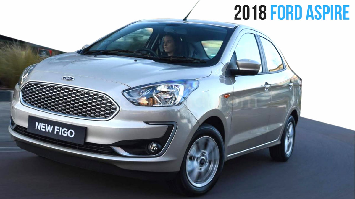Ford aspire facelift 2018