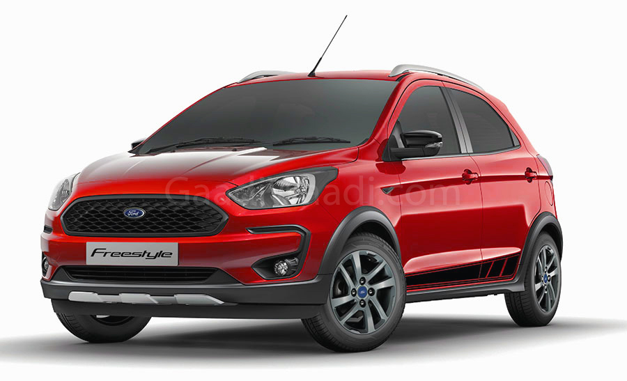 ford freestyle red gaadiwaadi-1