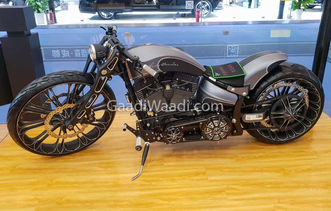 harley davidson custom eletric bike-2