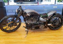 harley davidson custom eletric bike-2