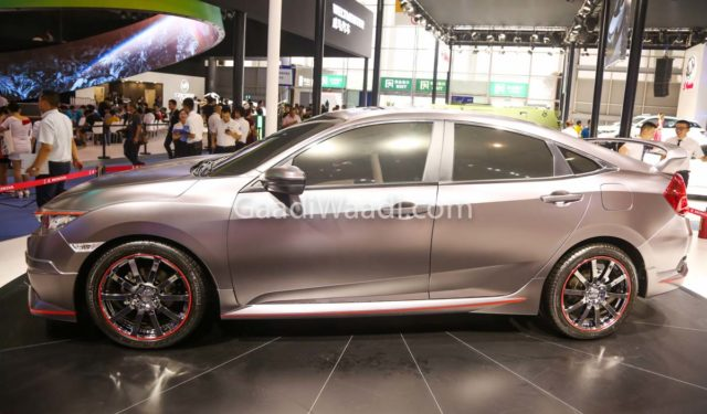 honda civic india grey colour -1