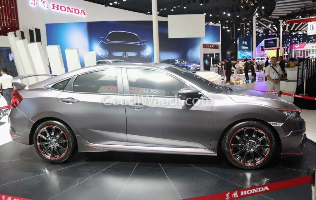 honda civic india grey colour -5