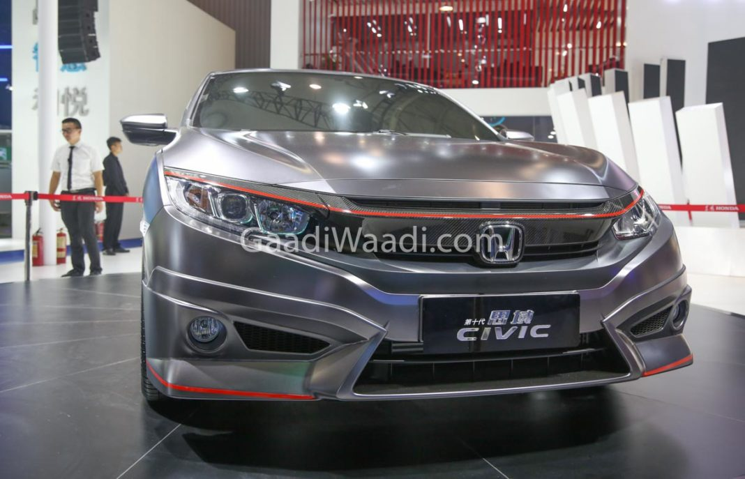 honda civic india grey colour -6