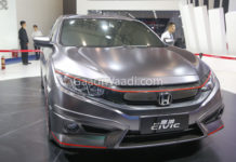 honda civic india grey colour -7
