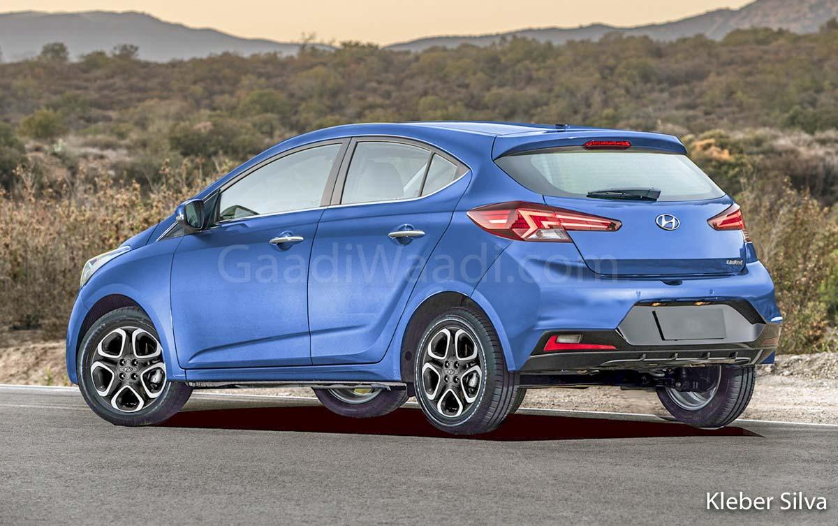 Next Generation Hyundai Grand I10 Production Model Rendered