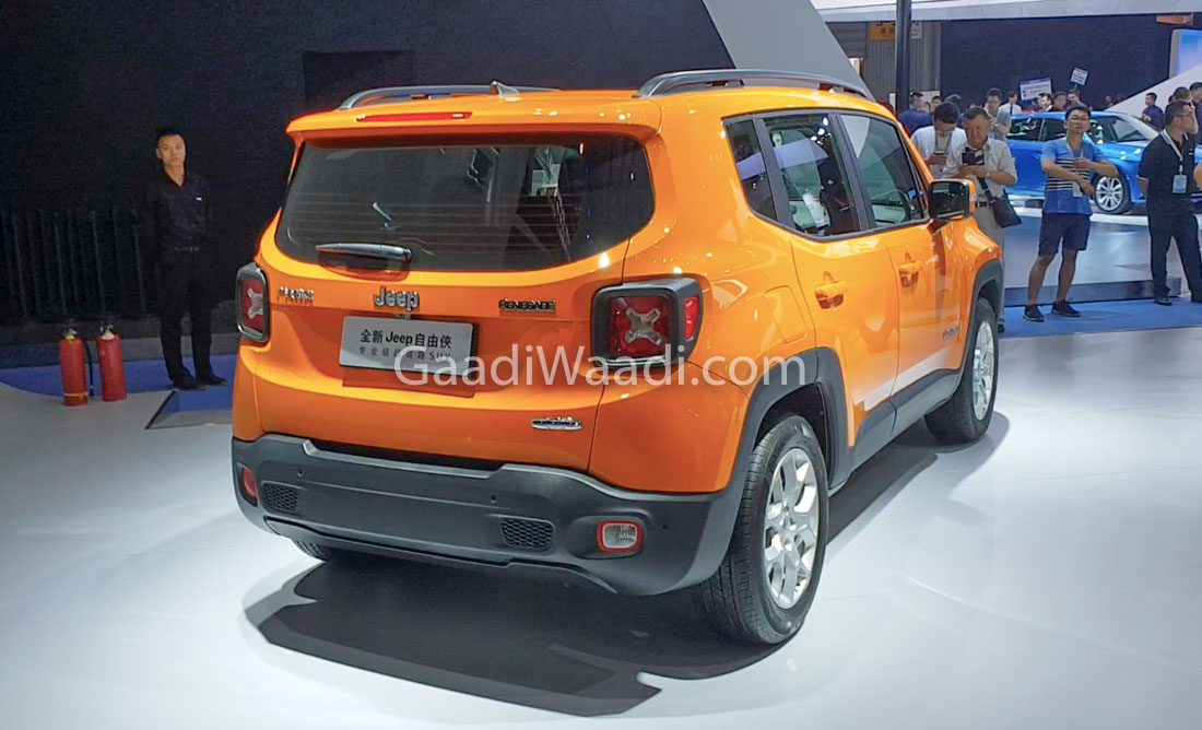 India Bound 2019 Jeep Renegade Showcased At Cms