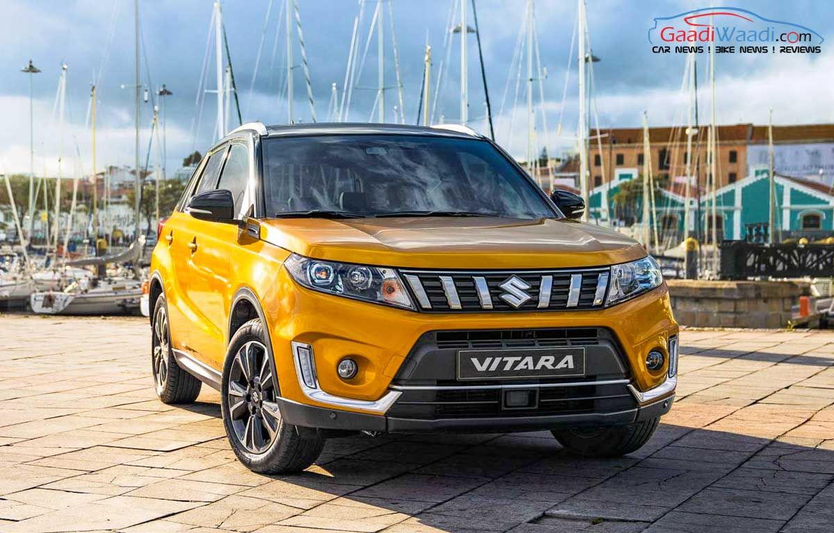 Production Of The India Bound 2019 Suzuki Vitara Has Commenced