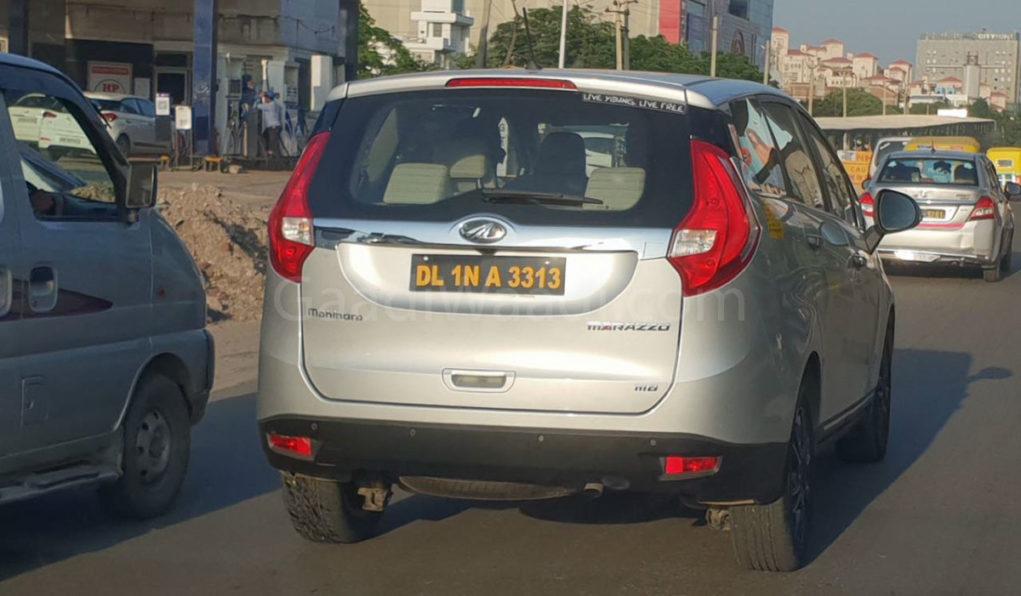 mahindra Dealer sold marazzo test drive Unit as taxi-1