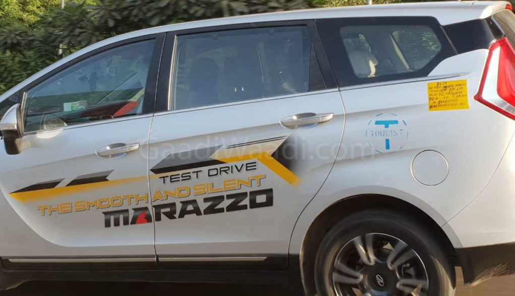 mahindra Dealers sold marazzo test drive Unit as taxi-1-2