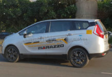 mahindra Dealers sold marazzo test drive Unit as taxi-3