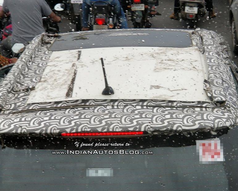 mahindra s201 sunroof top view
