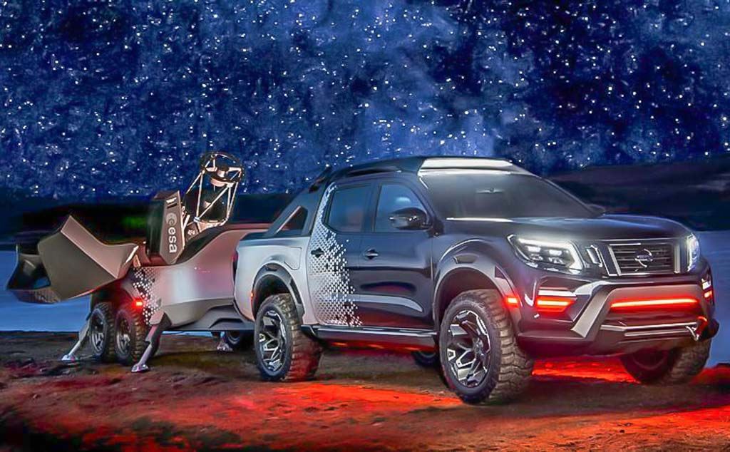 Ever Heard Of A Pickup Truck With Space Observatory? Here ...