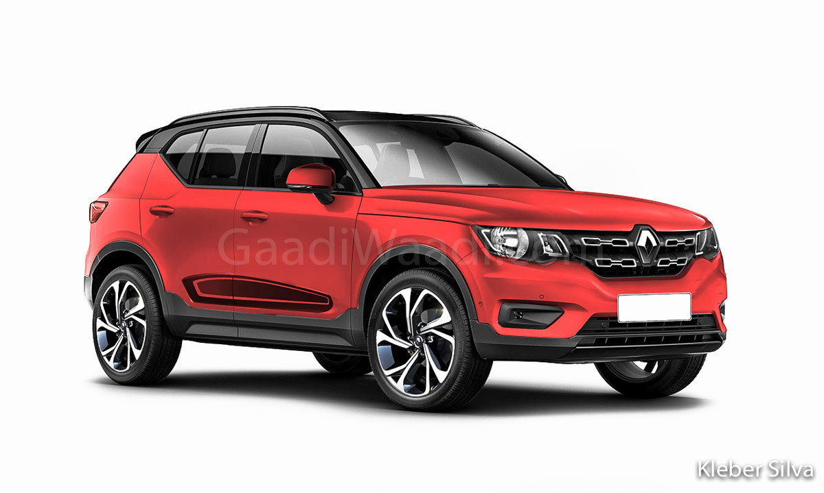 After Triber, Renault Likely To Launch Maruti Vitara Brezza/ Venue Rival In India - GaadiWaadi.com thumbnail
