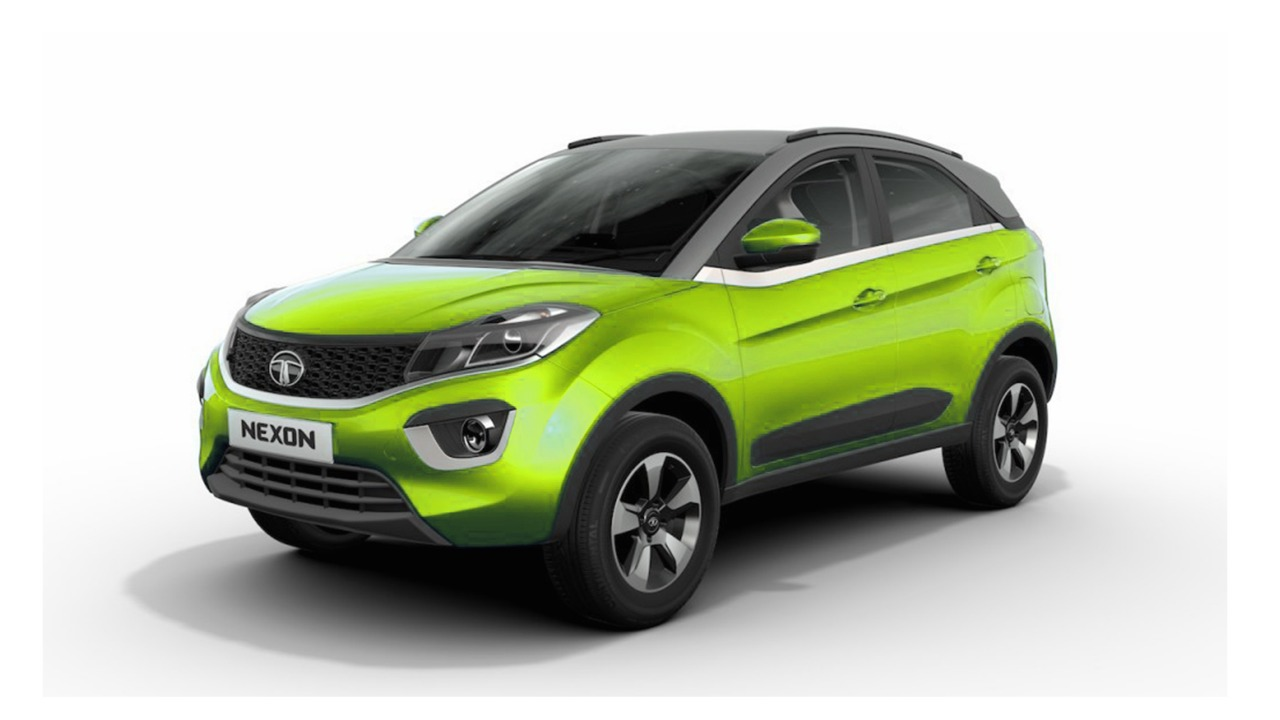 Mercedes Suv Models >> Tata Nexon Neon Looks Inspired by Mercedes G63 AMG Crazy ...