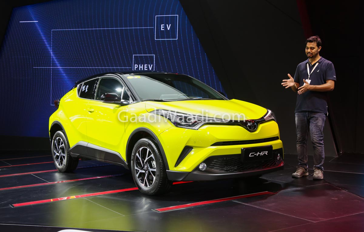 Toyota CH R Likely To Get Only 18L Petrol Hybrid Engine
