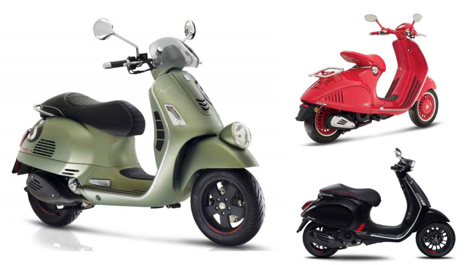 Vespa Limited Edition Scooters Launched In Malaysia