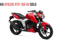 1 LAkh Apache RTR 160 4V Sold