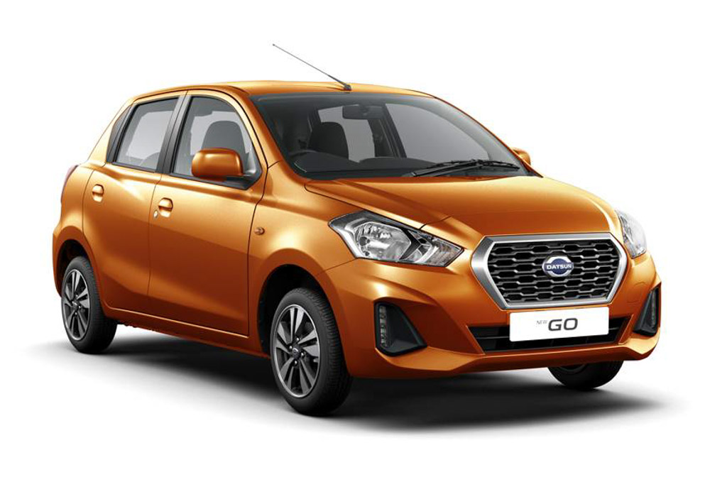 2018 Datsun Go And Go+ Facelifts Revealed; Booking Commences In India