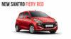 2018 Hyundai Santro fiery red -1
