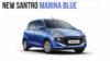 2018 Hyundai Santro marina blue-1