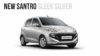 2018 Hyundai Santro sleek silver-1