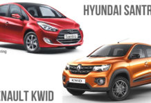 2018 Hyundai Santro vs Renault Kwid Comparison