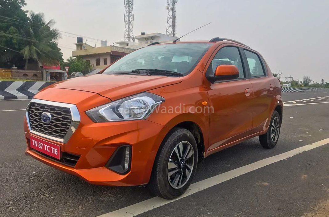 2018 datsun go, go plus alloywheels, led drls-5