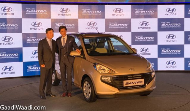 2018 hyundai santro india launched