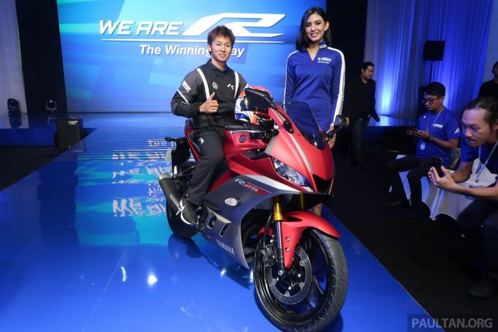 Yamaha R1 Specs >> 2019 Yamaha YZF-R25 Showcased Taking Styling Cues From R1