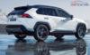 2019 toyota rav4 hybrid Paris Motor Show