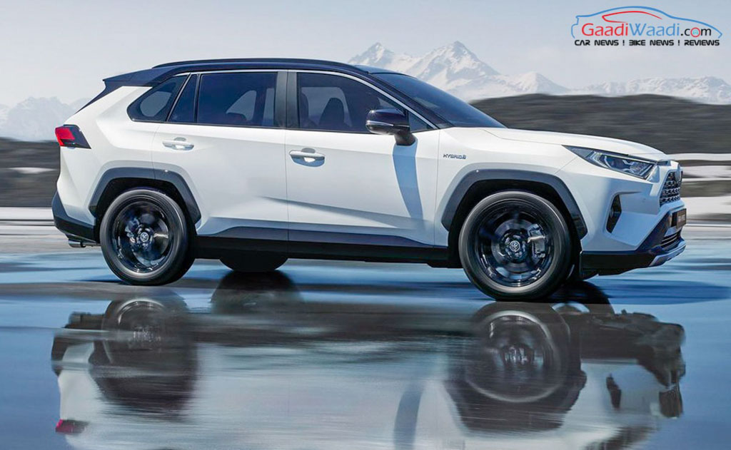more powerful 2019 toyota rav4 hybrid graces paris motor show. Black Bedroom Furniture Sets. Home Design Ideas