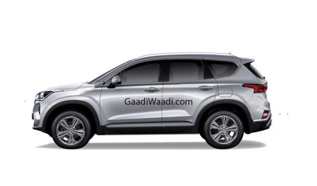 2020 Hyundai Creta Rendered Side