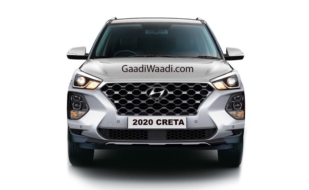 2020 Hyundai Creta Rendered