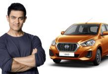 Aamir Khan Is Now Brand Ambassador of Datsun India